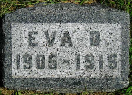 HOGG, EVA D. - Madison County, Iowa   EVA D. HOGG