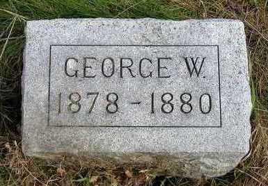 HOGG, GEORGE WESLEY - Madison County, Iowa   GEORGE WESLEY HOGG