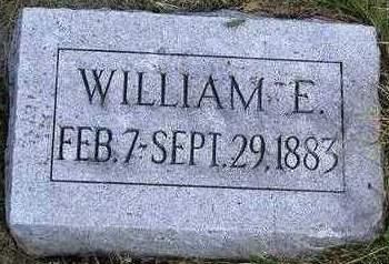 HOGG, WILLIAM E. - Madison County, Iowa | WILLIAM E. HOGG