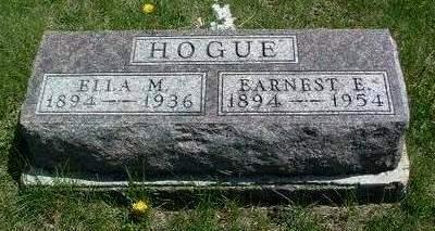 HOGUE, EARNEST E. - Madison County, Iowa | EARNEST E. HOGUE