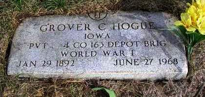 HOGUE, GROVER CLEVELAND - Madison County, Iowa | GROVER CLEVELAND HOGUE