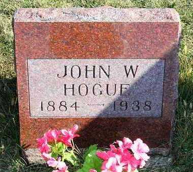 HOGUE, JOHN WILLIAM - Madison County, Iowa | JOHN WILLIAM HOGUE