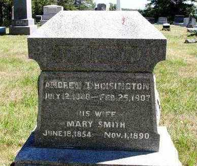 HOISINGTON, MARY A. - Madison County, Iowa   MARY A. HOISINGTON