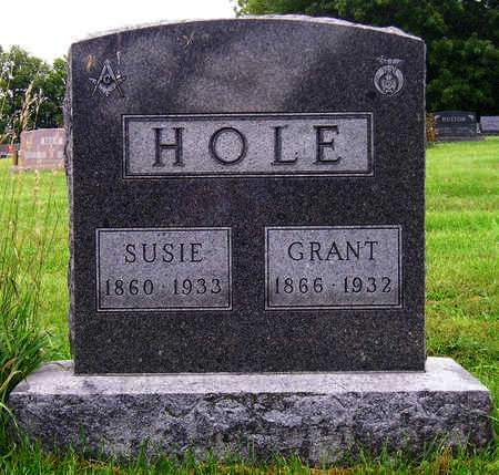 HOLE, SUSIE FRANCES - Madison County, Iowa | SUSIE FRANCES HOLE