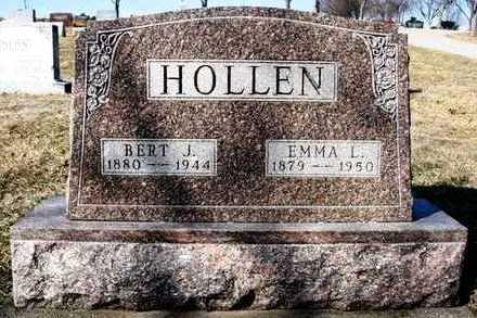 HOLLEN, EMMA LEONA - Madison County, Iowa   EMMA LEONA HOLLEN