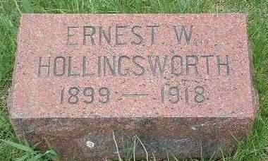 HOLLINGSWORTH, ERNEST WALTER - Madison County, Iowa | ERNEST WALTER HOLLINGSWORTH