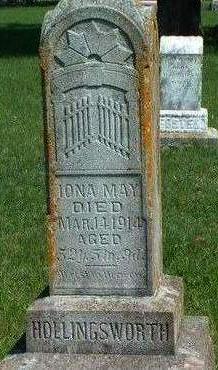 HOLLINGSWORTH, IONA MAY - Madison County, Iowa | IONA MAY HOLLINGSWORTH