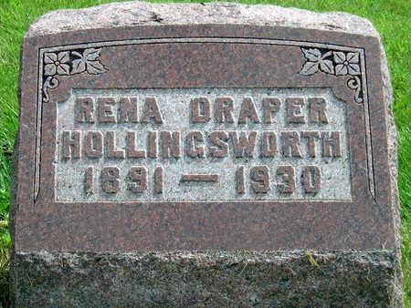 HOLLINGSWORTH, RENA BELL - Madison County, Iowa   RENA BELL HOLLINGSWORTH