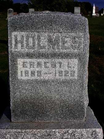 HOLMES, ERNEST LANE - Madison County, Iowa | ERNEST LANE HOLMES