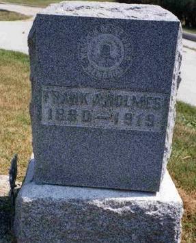 HOLMES, FRANK ALONZO - Madison County, Iowa | FRANK ALONZO HOLMES