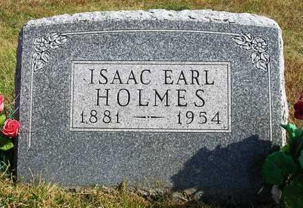 HOLMES, ISAAC EARL - Madison County, Iowa   ISAAC EARL HOLMES