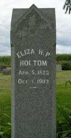 HOLTOM, ELIZA H. P. - Madison County, Iowa | ELIZA H. P. HOLTOM