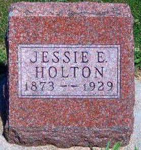 HOLTON, JESSIE ELMER - Madison County, Iowa | JESSIE ELMER HOLTON