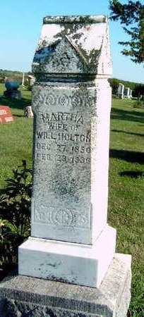 HOLTON, MARTHA - Madison County, Iowa | MARTHA HOLTON