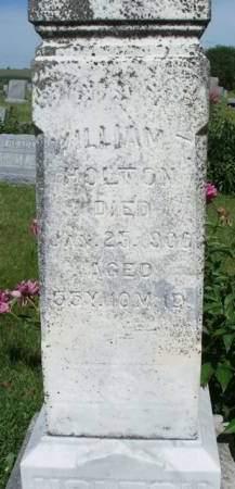 HOLTON, WILLIAM T. - Madison County, Iowa | WILLIAM T. HOLTON