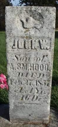 HOOD, JOHN W. - Madison County, Iowa | JOHN W. HOOD