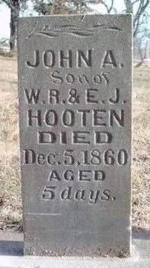 HOOTON, JOHN A. - Madison County, Iowa | JOHN A. HOOTON