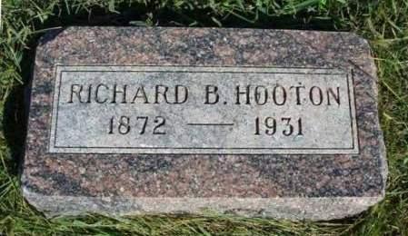 HOOTON, RICHARD B. - Madison County, Iowa   RICHARD B. HOOTON
