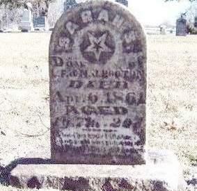 HOOTON, SARAH S. - Madison County, Iowa   SARAH S. HOOTON