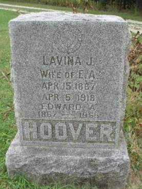 HOOVER, LAVINA JANE - Madison County, Iowa | LAVINA JANE HOOVER
