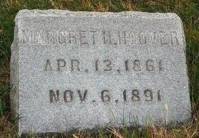 HOOVER, MARGRET HESTER - Madison County, Iowa   MARGRET HESTER HOOVER