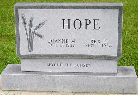 HOPE, REX D. - Madison County, Iowa | REX D. HOPE