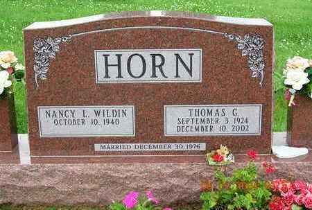 HORN, THOMAS GILMORE - Madison County, Iowa | THOMAS GILMORE HORN