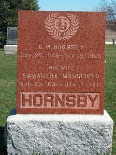HORNSBY, CHARLES WILLIAM - Madison County, Iowa | CHARLES WILLIAM HORNSBY