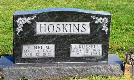 HOSKINS, ETHEL M. - Madison County, Iowa | ETHEL M. HOSKINS