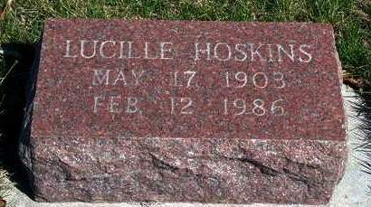 HOSKINS, LUCILLE - Madison County, Iowa   LUCILLE HOSKINS