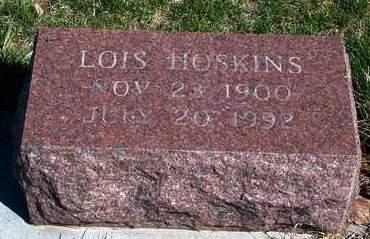 HOSKINS, LOIS - Madison County, Iowa   LOIS HOSKINS