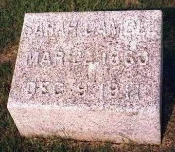 HOUK, SARAH GAMBLE - Madison County, Iowa | SARAH GAMBLE HOUK