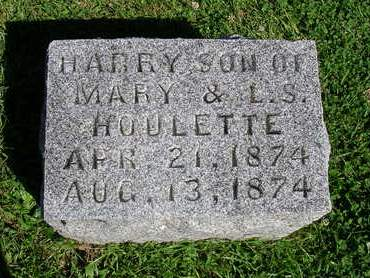 HOULETTE, HARRY MAURICE - Madison County, Iowa   HARRY MAURICE HOULETTE