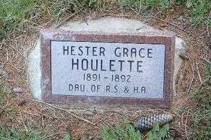HOULETTE, HESTER GRACE - Madison County, Iowa | HESTER GRACE HOULETTE