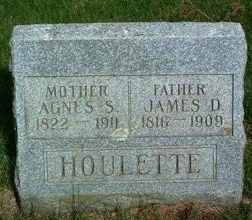 HOULETTE, AGNES SMITH - Madison County, Iowa | AGNES SMITH HOULETTE