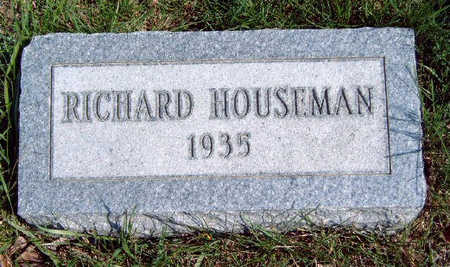 HOUSEMAN, RICHARD - Madison County, Iowa | RICHARD HOUSEMAN