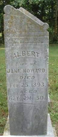 HOWARD, ALBERT H. - Madison County, Iowa | ALBERT H. HOWARD