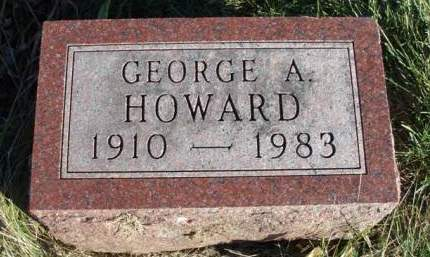 HOWARD, GEORGE ALFRED - Madison County, Iowa | GEORGE ALFRED HOWARD