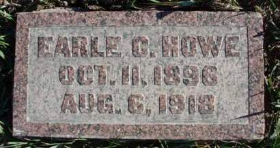 HOWE, EARLE CALVIN - Madison County, Iowa | EARLE CALVIN HOWE