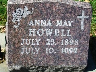 HOWELL, ANNA MAY - Madison County, Iowa | ANNA MAY HOWELL