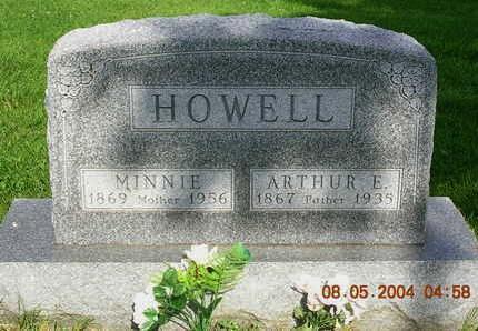 HOWELL, MINNIE M. - Madison County, Iowa | MINNIE M. HOWELL