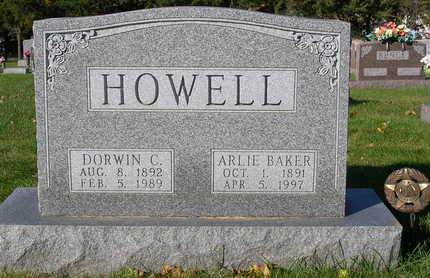 HOWELL, ARLIE E. - Madison County, Iowa | ARLIE E. HOWELL