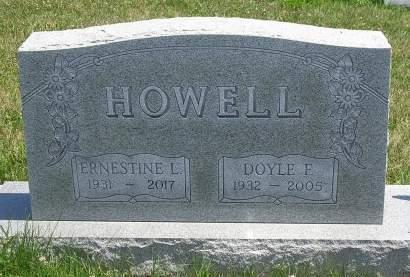 HOWELL, DOYLE  F. - Madison County, Iowa | DOYLE  F. HOWELL