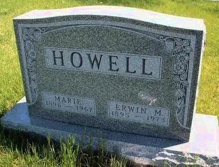 HOWELL, ERWIN MILLER - Madison County, Iowa   ERWIN MILLER HOWELL