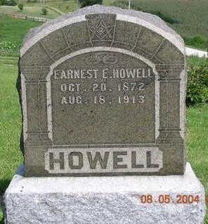 HOWELL, ERNEST ELI / ELROY - Madison County, Iowa | ERNEST ELI / ELROY HOWELL