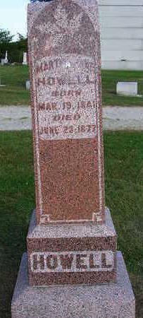 HOWELL, MARTHA  JANE - Madison County, Iowa | MARTHA  JANE HOWELL