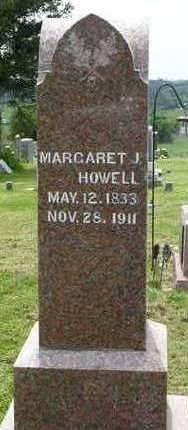 HOWELL, MARGARET JANE - Madison County, Iowa | MARGARET JANE HOWELL