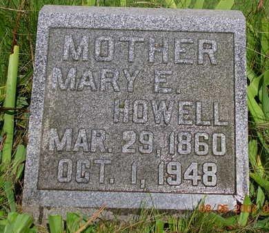 HOWELL, MARY ETTA - Madison County, Iowa | MARY ETTA HOWELL