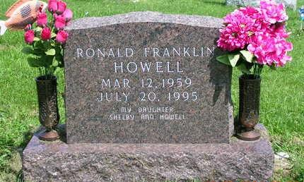 HOWELL, RONALD FRANKLIN - Madison County, Iowa | RONALD FRANKLIN HOWELL