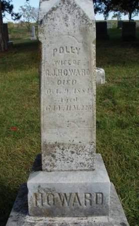 HOWARD, POLLY - Madison County, Iowa   POLLY HOWARD